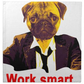 Work smart napkin