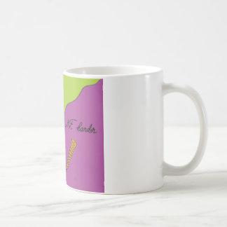 Work smarter, not harder basic white mug