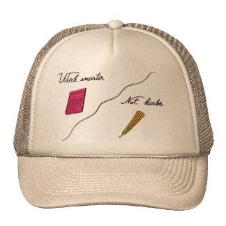 Work smarter, not harder trucker hat