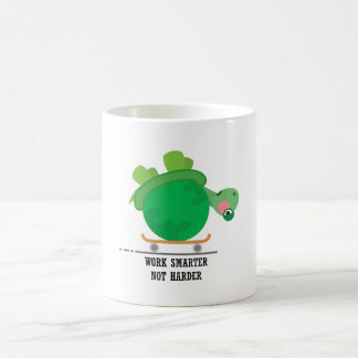 Work smarter, not harder coffee mug