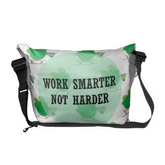 Work smarter, not harder commuter bag