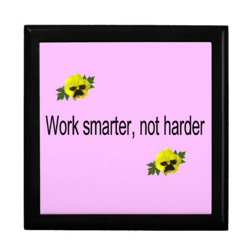 Work Smarter, Not Harder Gift Boxes