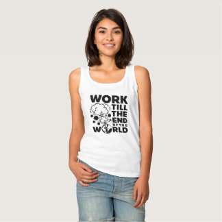 Work Till The End of The World Singlet