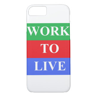 Work-To-Live iPhone 7, Barely There Cases