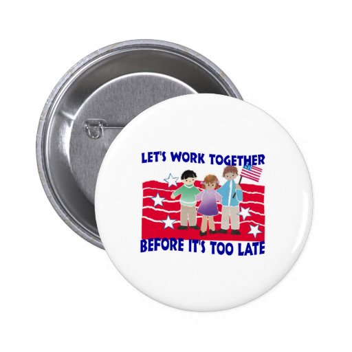 WORK TOGETHER PINS