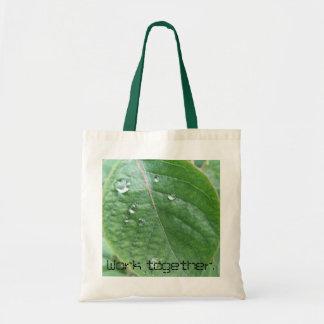 Work together bag. budget tote bag