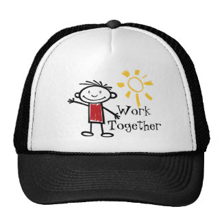 Work Together Mesh Hat