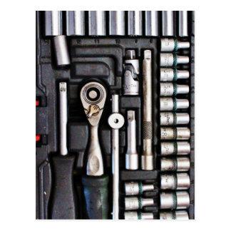 Work Toolbox - Industrial Print Postcard