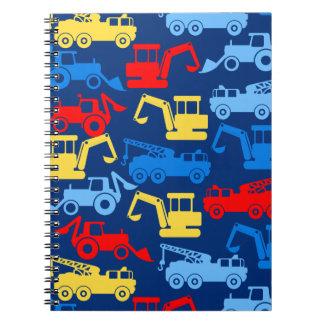 Work trucks notebook