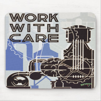 Work WIth Care Mousepad