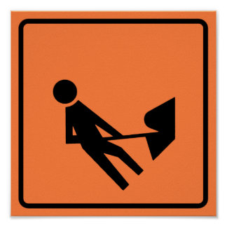Work Zone Highway Construction Sign