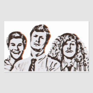 Workaholics Rectangular Sticker