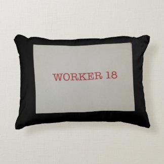Worker 18 Pillow