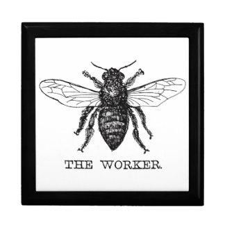Worker Bee Bumblebee Vintage Motivational Gift Box