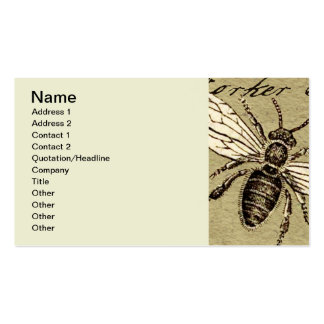 Worker Bee Business Card