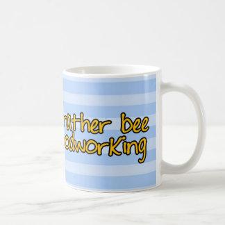 worker bee - carpenter coffee mug