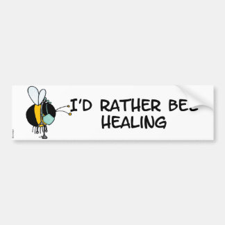 worker bee - doctor bumper sticker