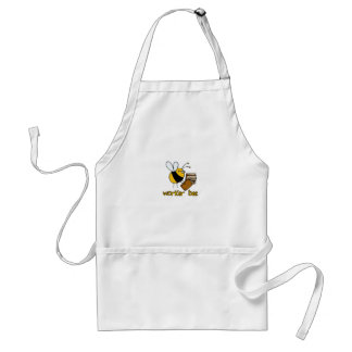 worker bee - librarian standard apron