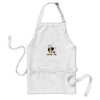 worker bee - maid standard apron