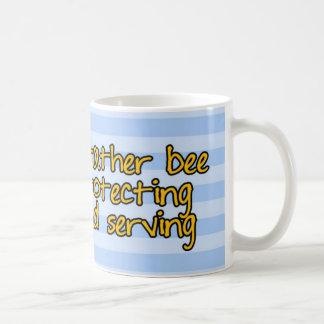 worker bee - police officer coffee mug