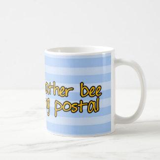 worker bee - postal worker basic white mug