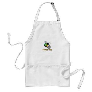 worker bee - sanitation worker standard apron