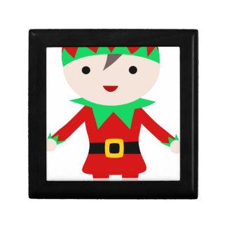 Worker Elf Gift Box