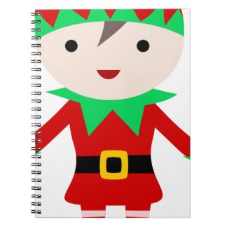 Worker Elf Notebook