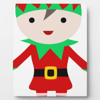 Worker Elf Plaque