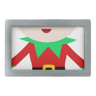 Worker Elf Rectangular Belt Buckle