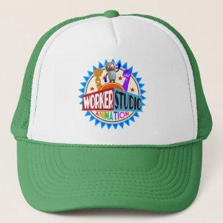 Worker Studio Animation Trucker Cap