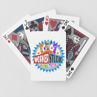 Worker Studio Playing Cards