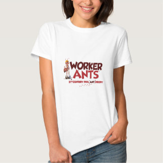 WorkerAnts Classic T Shirts