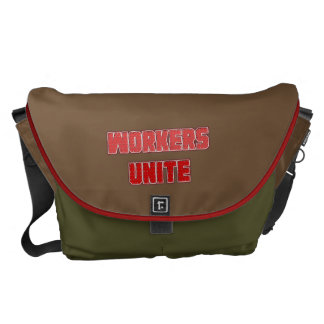 Workers Unite Messenger Bags