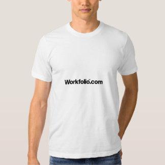 Workfolio Dot Com Black Logo Tee
