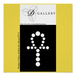 Workin 9 Nine of Nine 81 Muses P111 Poster