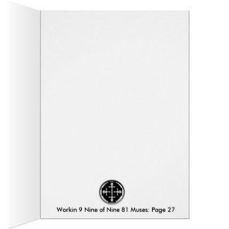 Workin 9 Nine of Nine 81 Muses P27 IT Card