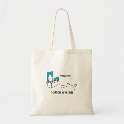 Working at Home Canvas Bags
