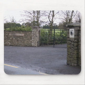 Working Entrance Of Castlemartin Stud In Kilcullen Mouse Pads