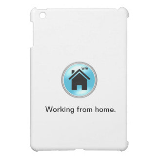 """Working from home"" iPad Case"
