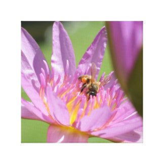 Working Hard for the Honey Canvas Print