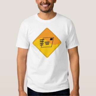 Working Is For People Who Don't Deliver Mail T-shirt