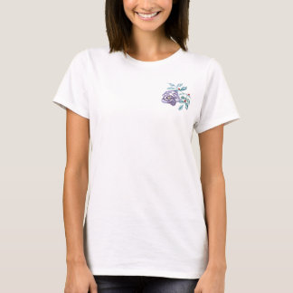 Working Ladybugs, Sumi-e in color ink T-Shirt