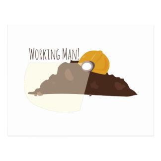 Working Man Postcards