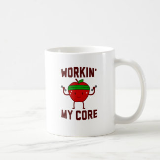 Working My Apple Core Coffee Mug