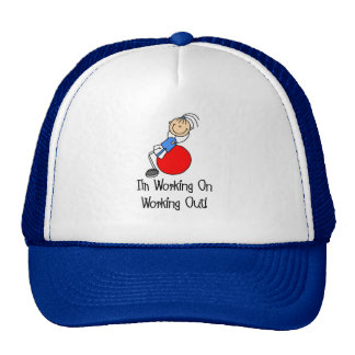 Working On Working Out Hat