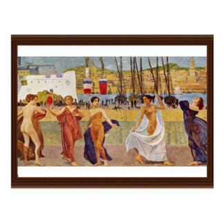 Working-Prosperity-Beauty Detail By Klinger, Max ( Postcard
