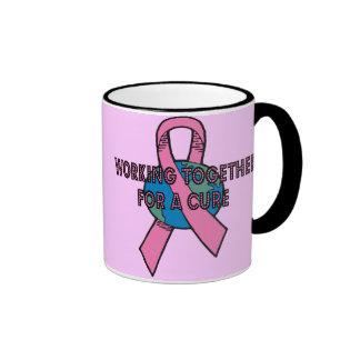 Working Together Breast Cancer Mug