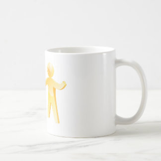 Working together concept coffee mugs
