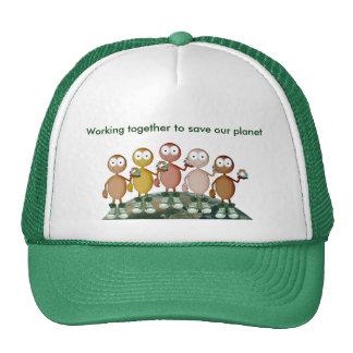 Working together trucker hat